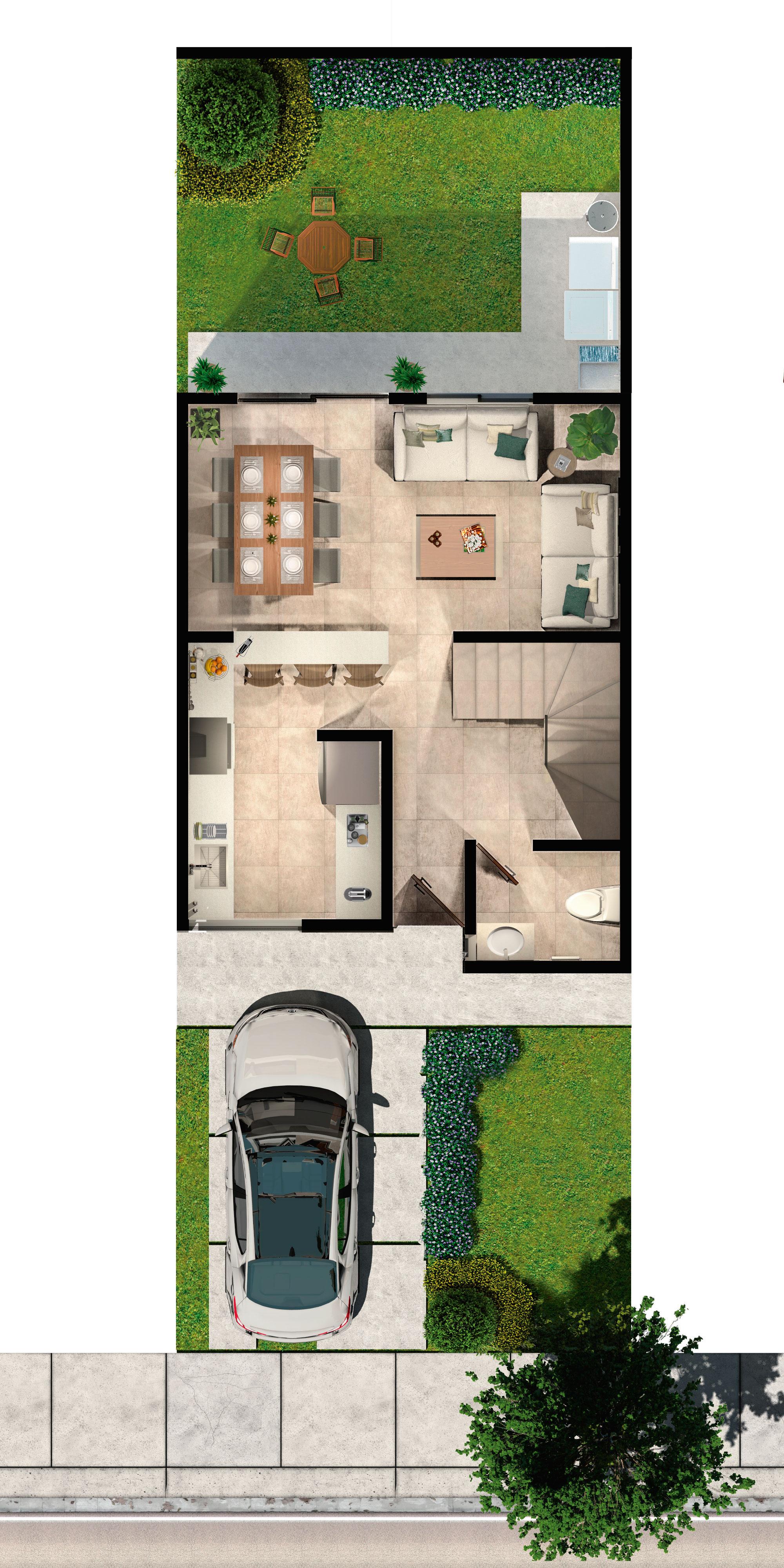 Modelos de casas de planta baja el mayorazgo residencial - Modelos de casas de planta baja ...